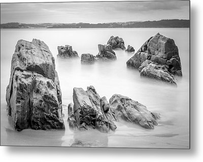Metal Print featuring the photograph Seselle Beach Galicia Spain by Pablo Avanzini