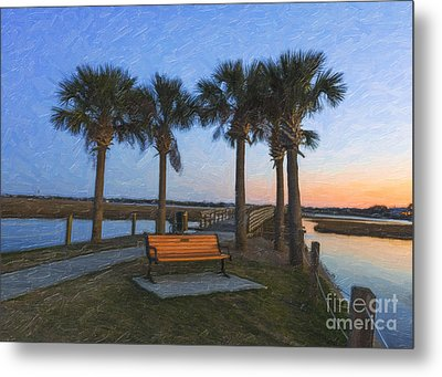 Set A Spell And Dream Metal Print by Dale Powell