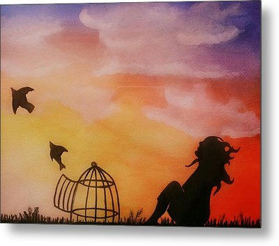 Set Free Metal Print by Kiara Reynolds