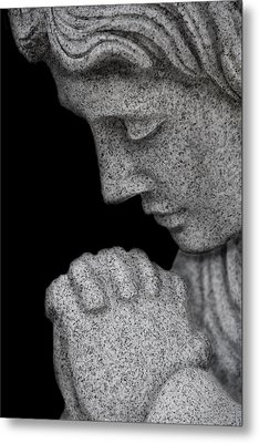Set In Stone Metal Print by Mary Burr