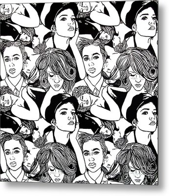 Seven Beauties Metal Print