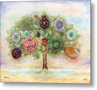 Seven Fruits Metal Print by Michoel Muchnik