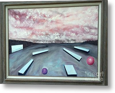Metal Print featuring the painting Seven Levels Of Consciousness by Stuart Engel