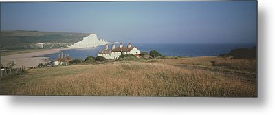 Seven Sisters Dover England Metal Print by Panoramic Images