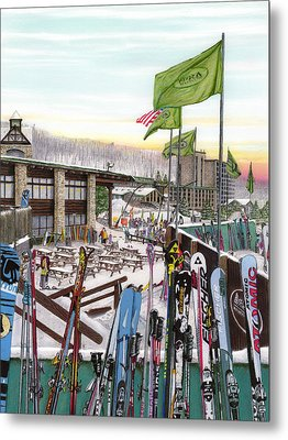 Seven Springs Mountain Resort Metal Print