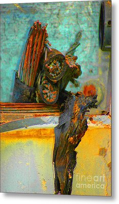Metal Print featuring the photograph Severed  by Christiane Hellner-OBrien