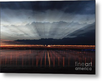 Severn Bridge Metal Print by Brian Roscorla