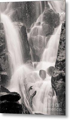 Seward Falls Metal Print