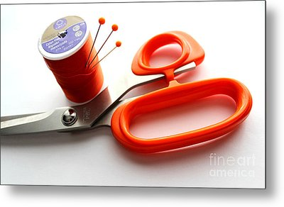 Sewing Essentials Metal Print by Barbara Griffin