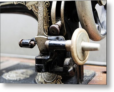 Sewing Machine 1 Metal Print