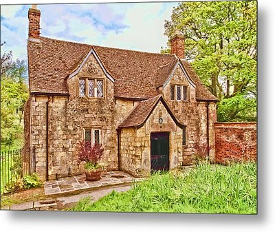 Metal Print featuring the photograph Sextons Cottage Devizes by Paul Gulliver