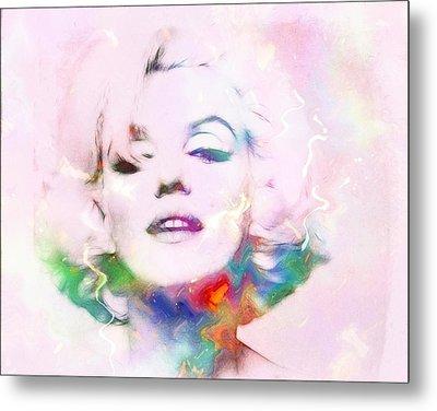 Sexy Marilyn Metal Print by Steve K