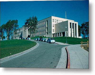 Sf City College 1956 Metal Print by Cumberland Warden