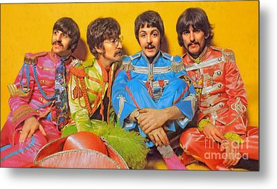 Sgt. Pepper's Lonely Hearts Club Band Metal Print by Stephen Shub