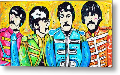 Sgt. Pepper's Lonely Hearts Club Metal Print