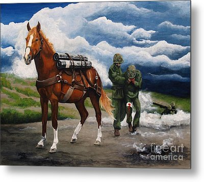 Sgt. Reckless Metal Print