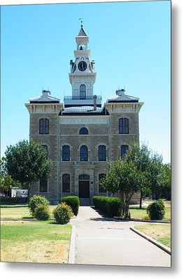 Shackelford County Courthouse Metal Print