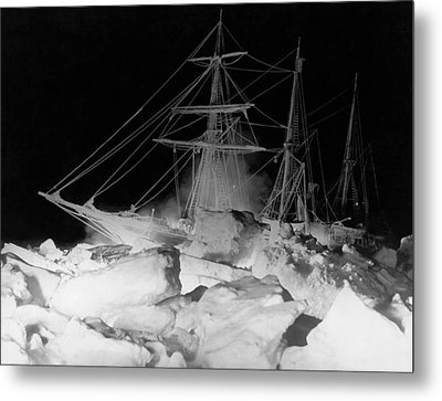 Shackleton's Ship, Endurance Metal Print by Underwood Archives