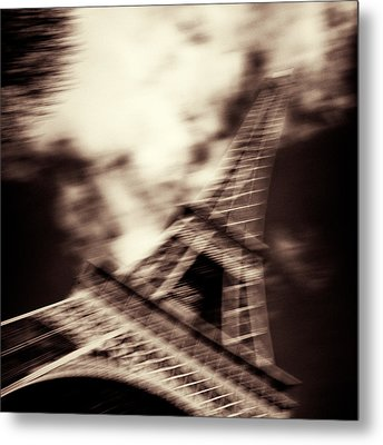 Shades Of Paris Metal Print by Dave Bowman