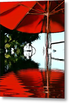 Shades Of Red Metal Print by Robert Smith