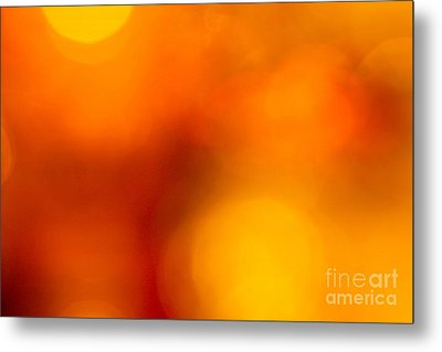 Shades Of Spheres Metal Print by Cathy Dee Janes