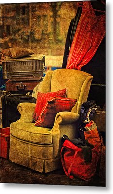 Shades Of The Past. Flea Market. Amsterdam Metal Print