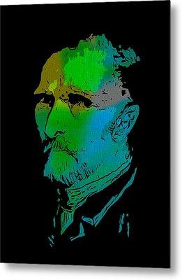 Shades Of Van Gogh Metal Print