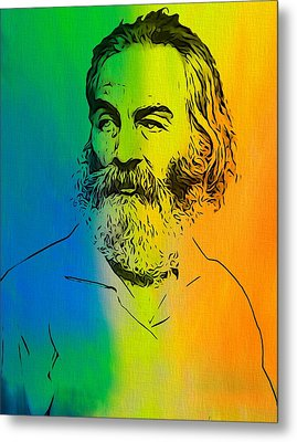 Shades Of Walt Whitman Metal Print by Dan Sproul