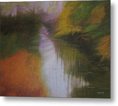 Shadow Creek Metal Print