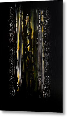 Shadow Gate Metal Print by Robert Horvath