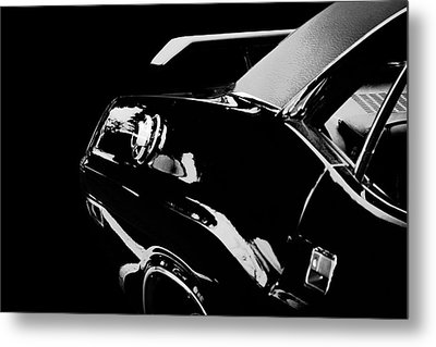 Classic Car Metal Print featuring the photograph Shadow Of American Muscle by Aaron Berg
