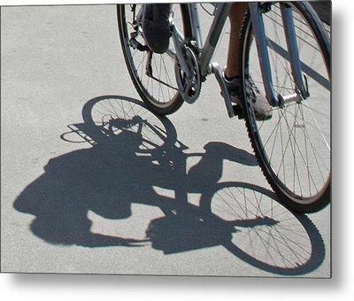 Shadow Rider Metal Print by Susan OBrien
