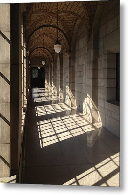 Shadows And Stone Metal Print by Rod Seel