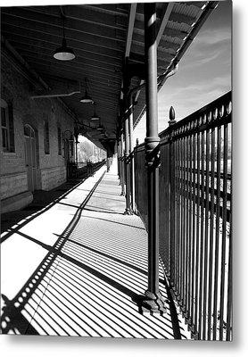Shadows At The Station Metal Print