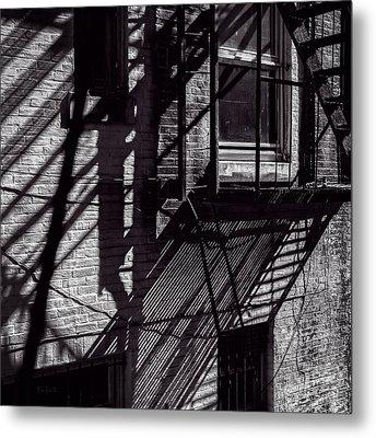 Shadows Metal Print by Bob Orsillo