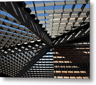 Metal Print featuring the photograph Shadows by Judy  Johnson