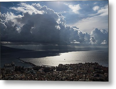 Metal Print featuring the photograph Shadows Of Clouds by Georgia Mizuleva