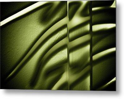 Shadows On Wall Metal Print