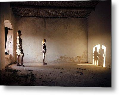 Shadows Reborn - Convergence Metal Print