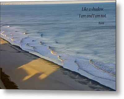 Shadows Metal Print by Rhonda McDougall