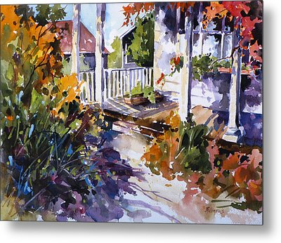 Shady Spot Metal Print by Rae Andrews