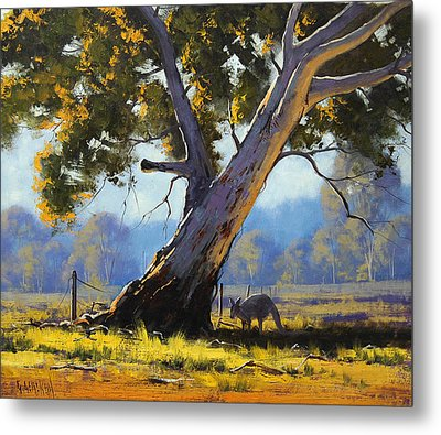 Shady Tree Metal Print