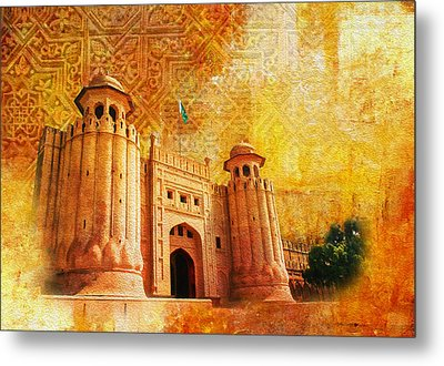 Shahi Qilla Or Royal Fort Metal Print by Catf