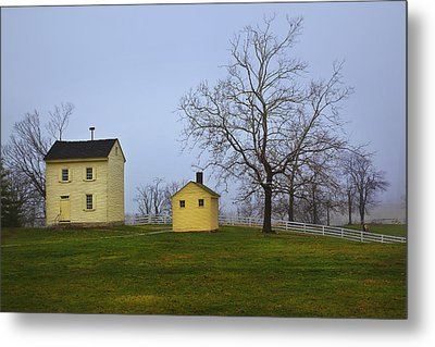Shakertown Morning Metal Print