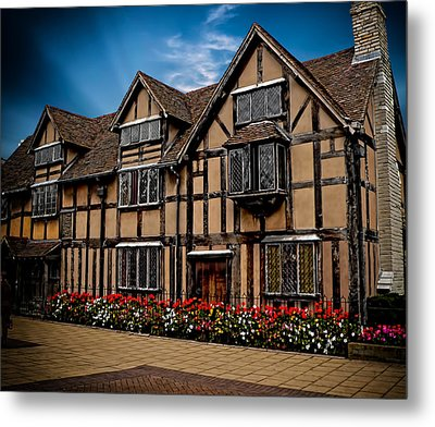 Shakespear Slept Here Metal Print by Gordon Engebretson