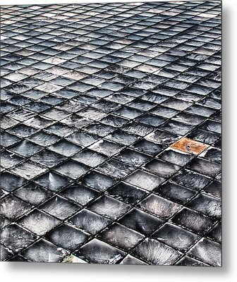 Metal Print featuring the photograph Shaled by David Stine