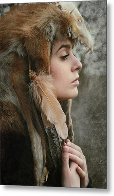 Shaman Metal Print by Cambion Art