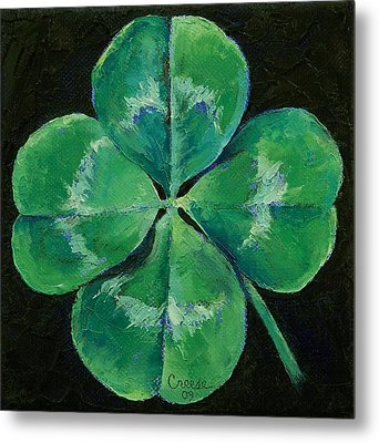 Shamrock Metal Print by Michael Creese