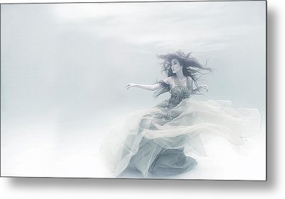 Shape Of A Sound Metal Print