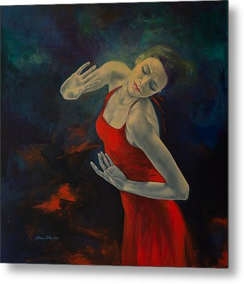Shape Of My Heart... Metal Print by Dorina  Costras